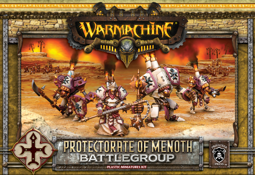 Warmachine - Battlegroup Box - Protectorate of Menoth (Deutsch)