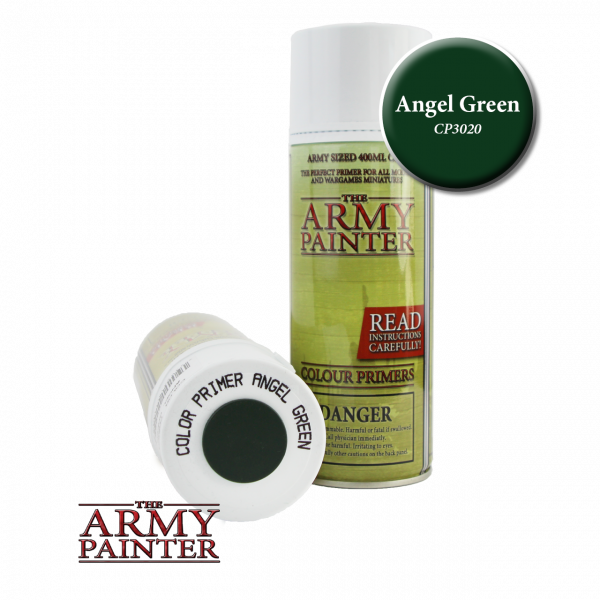 Army Painter - Colour Primer - Angel Green
