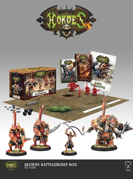 Hordes - MKIII - Battlegroup Box - Skorne (Deutsch)