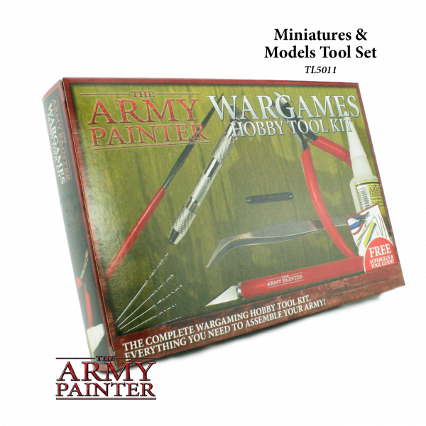 Army Painter - Tool - Wargamers Hobby Tool Kit (box)