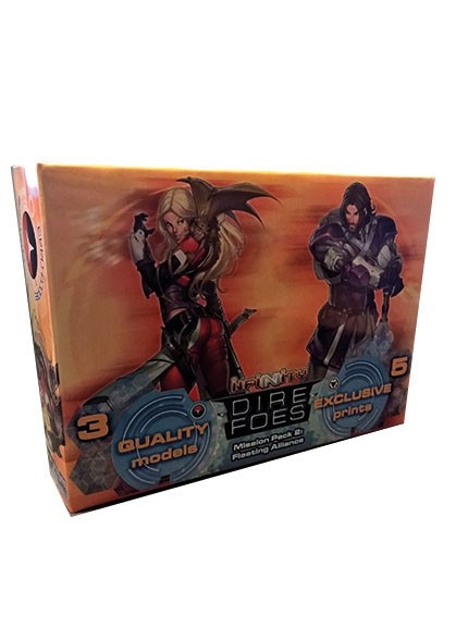 Infinity: Dire Foes Mission Pack 2: Fleeting Alliance