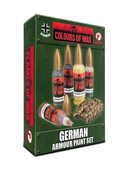 Flames of War - Paint Set - Deutsches Reich Panzerung