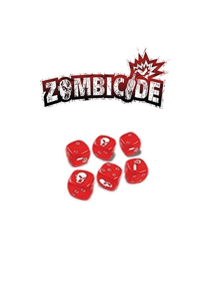 Zombicide Red Dice Set