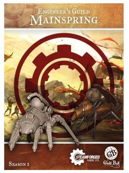 Guild Ball - Engineer's Guild Mainspring