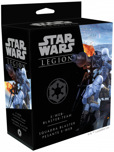 Star Wars Legion: E-Web-Blaster-Team - Erweiterung DE/IT