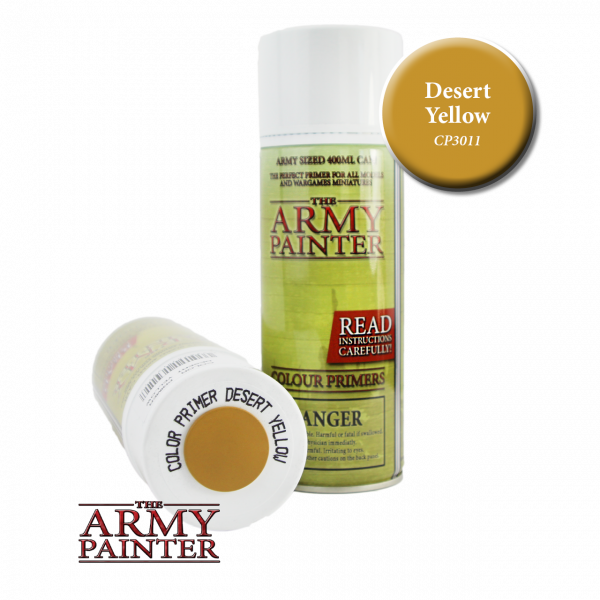 Army Painter - Colour Primer - Desert Yellow
