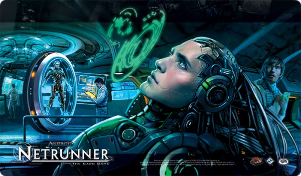 Android Netrunner Spielmatte : Creation an Control