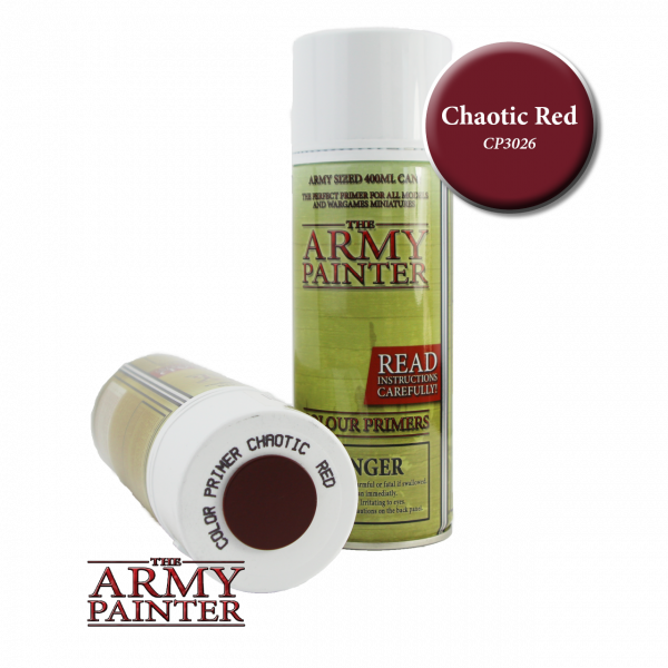 Army Painter - Colour Primer - Chaotic Red