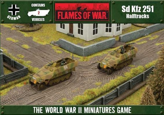 Flames of War - Box - Deutsches Reich - Sd Kfz 251 Halftracks