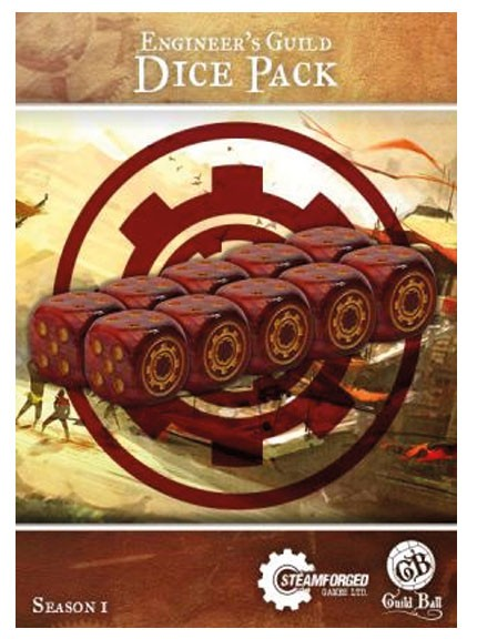 Guild Ball - Accessories - Engineer's Guild Dice Pack