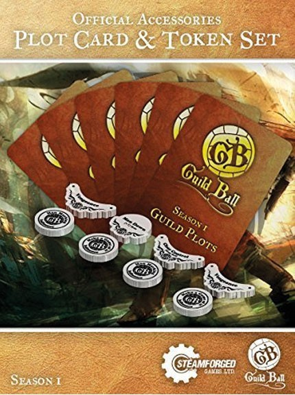 Guild Ball - Accessories - Plot Card and Tokens