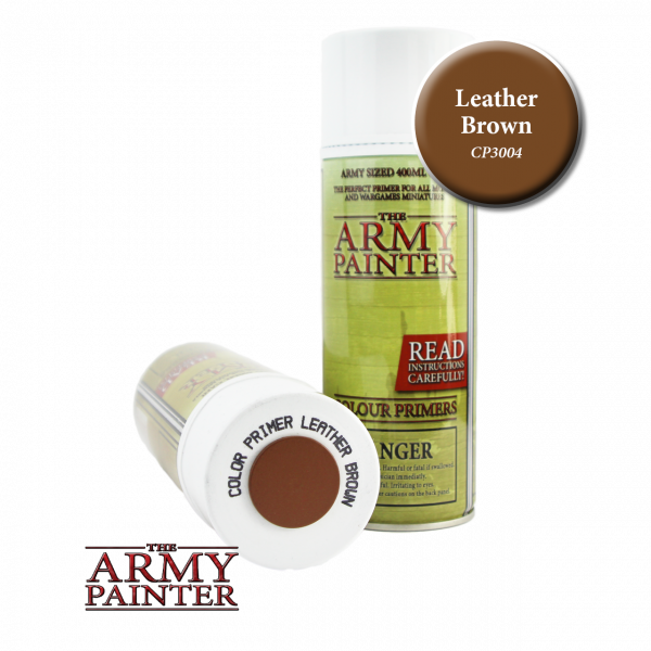 Army Painter - Colour Primer - Leather Brown