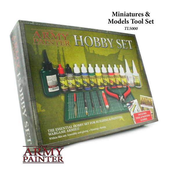 Army Painter - Starter Set - The Army Painter Hobby Set