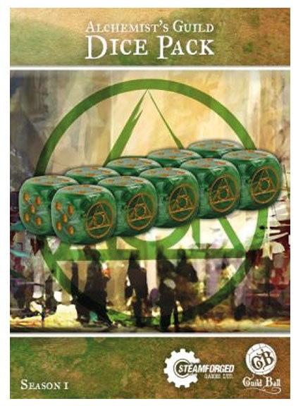 Guild Ball - Accessories - Alchemist's Guild Dice Pack