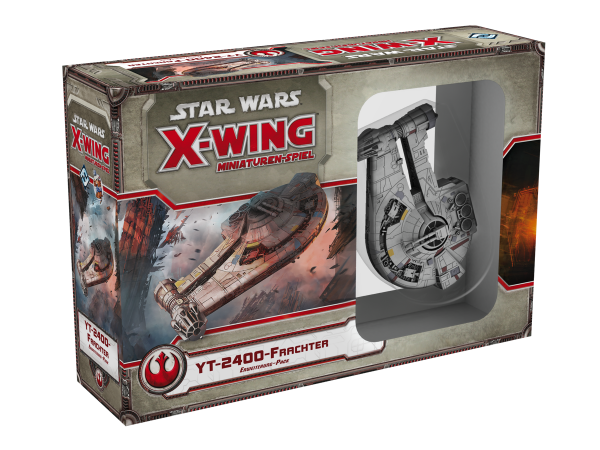 Star Wars X-Wing: YT-2400 Frachter Erw.-Pack - FFG - Deutsch
