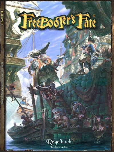 Freebooter's Fate Regelbuch Softcover