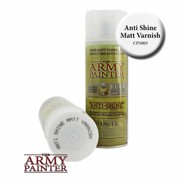 Army Painter - Base Primer - Anti-Shine. Matt Varnish
